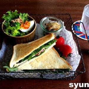 パンにも合う!「大葉サンドイッチ」でさわやか朝ごはん