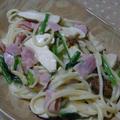 松茸のクリームパスタ by Amaneさん