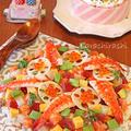 ひなまつりに海鮮バラちらし寿司☆雛ケーキ