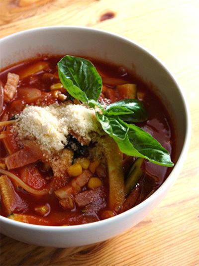 お鍋一つで!スープパスタの時短&節約レシピ26選♡
