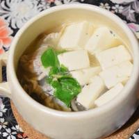 関西風?肉豆腐。薄味でおだしのきいた優しい味。