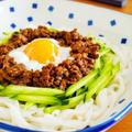 肉味噌こんにゃくうどん♪簡単ヘルシー麺レシピ by みぃさん