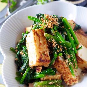 ヘルシーなのにボリューム満点!道添明子さんの「厚揚げと野菜のおかず」