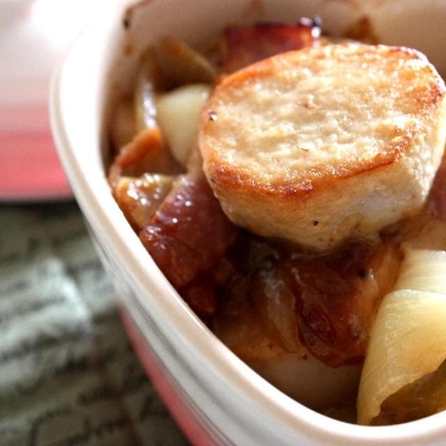 里芋のバーベキューグリル