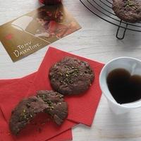 シナモン風味のチョコ&ナッツクッキー & 猫好きさんへのラッピング♪