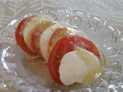 塩麹ドレッシング〜トマトとモッツアレラチーズ〜