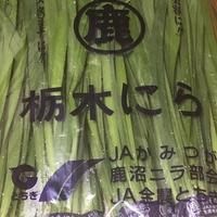 栃木県産のにらで、にらチヂミを作りました。
