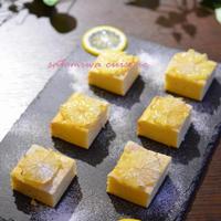 夏に嬉しい爽やかスイーツ☆ レモンチーズケーキ♪
