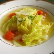 燃焼系糖質代謝ダイエット!キャベツとミニトマトのスープ