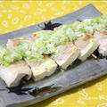 サッパリ食べれる♪塩ダレde豆腐の豚バラ巻き