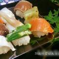 夏の手鞠寿司