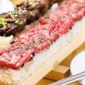 ユッケ寿司が流行ってると聞いて。