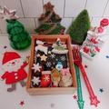 海苔弁でクリスマス弁当〖デコ弁*クリスマス〗 by とまとママさん