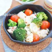 鶏肉とゆり根のオーブン焼き(ぎゅうぎゅう焼き)