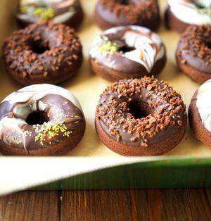 チョコレート焼きドーナツ、再び。