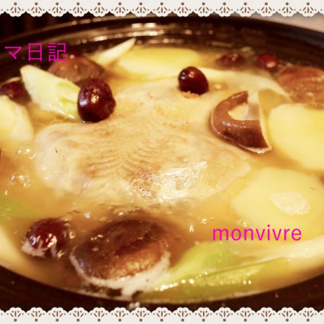 おうちで韓国風鍋「タッカンマリ」♪