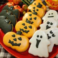 ホットケーキミックスdeお手軽★生姜香る♪ハロウィンアイシングクッキー Make Halloween icing cookies smelling of ginger -Recipe No.1486-
