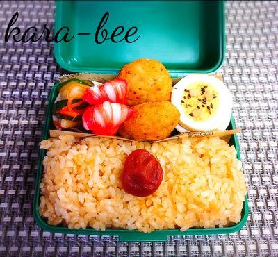 食いしん坊からちゃんの♪静岡県の給食で大人気の地元メシ!さくらごはん弁当