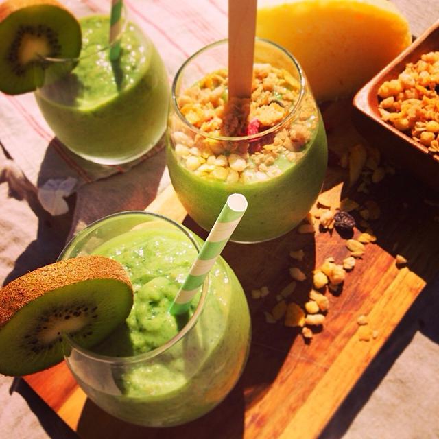Super seeds & Green smoothie