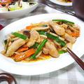 キムチ鍋の素で簡単!鶏キムスタミナ炒め