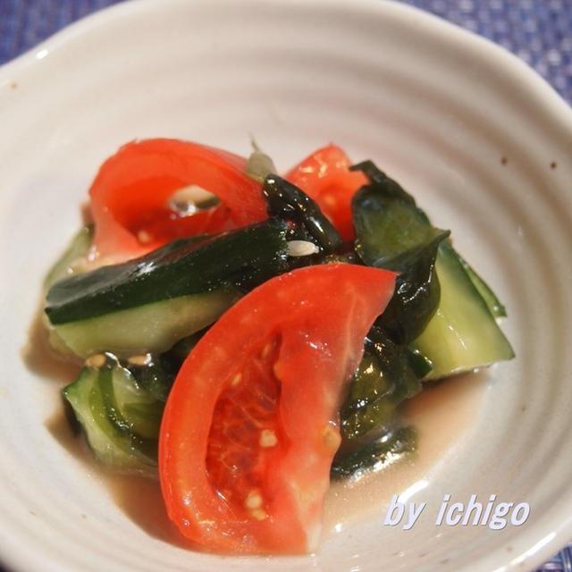 NHKあさイチ解決ごはん|藤井 恵さんのわかめと夏野菜のサラダ