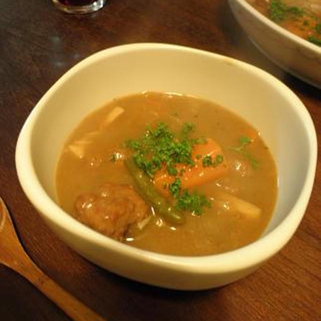 [スープ]ミートボールシチュー