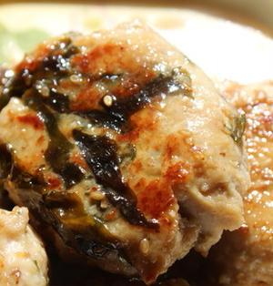 鶏ムネ肉と高野豆腐の根菜バーグ☆