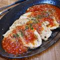 鶏ささみ肉のソテー(トマトソースかけ)観音開きって?&チキンラーメンは卵混ぜて作る派