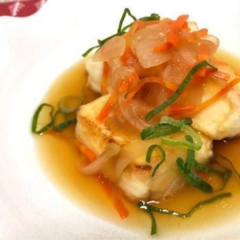 食べる前から確信!!絶対美味しい揚げ出し豆腐