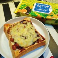 朴葉味噌チーズトースト