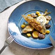 フライパン1つ!味付け1つ! 秋味な1品【秋刀魚と秋の旬野菜の和だし焦がしバターソテー】