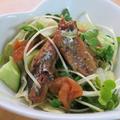 非加熱♪さんまの蒲焼きサラダ仕立て梅風味 by kaana57さん