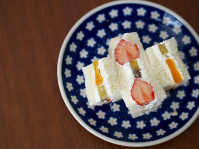 Japanese Fruit Sandwich