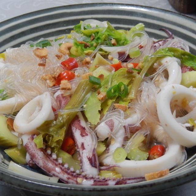 イカと牡蠣