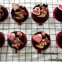 【レッスンレポ】2月10日ザッハトルテ~Valentine decoration~