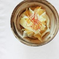 モランボン「ナムルの素」でキャベツの塩ナムル。