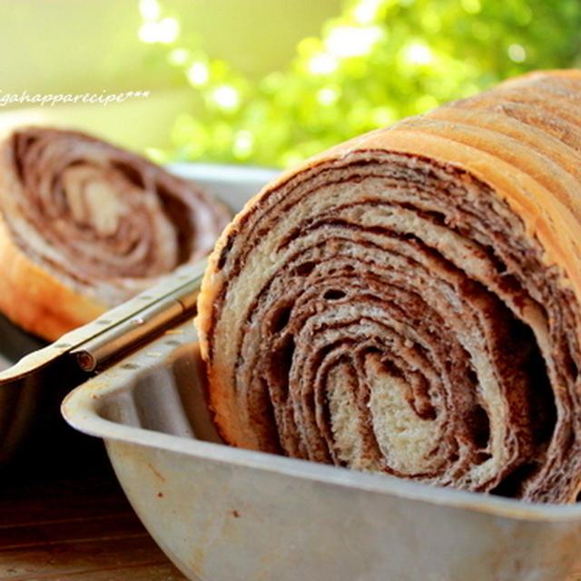 チョコマーブルパン。