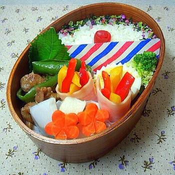 豚の味噌炒めのお弁当