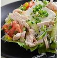 Yahoo! JAPAN パソコン版トップページ掲載『しっとりやわらか鶏胸肉のごちそう冷奴』 by 槙 かおるさん