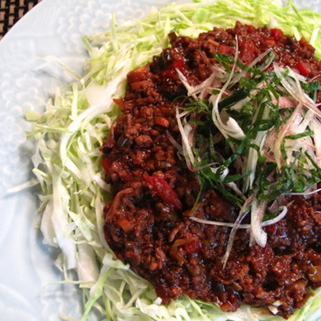 ご飯モリモリ夏バテ解消メニュー:キャベツのひき肉薬膳あんかけ、みぞれ茄子豆腐、ざっくりキンピラ