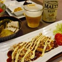 【うちレシピ】エビオス・ビール酵母+豆腐とコンニャクでヘルシー★お好み焼き