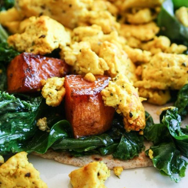 Breakfast Wrap朝食ラップ