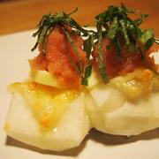 チーズ明太バター餅