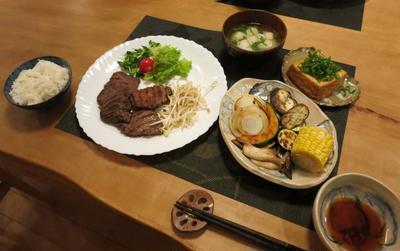 仙台の「牛たん食べくらべ」た晩ご飯 と スノーインサマーの花満開♪