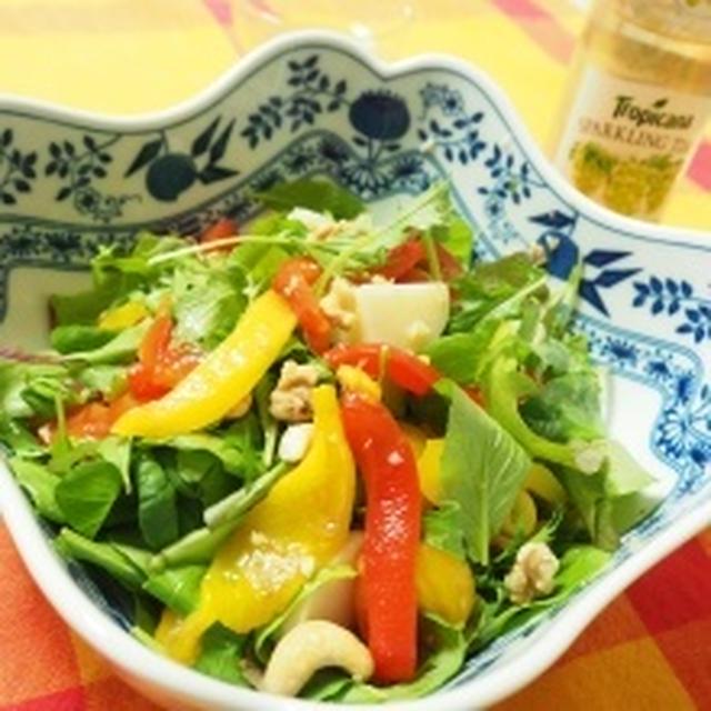 2色パプリカのとろっとマリネサラダ~常備菜でバル風サラダ~