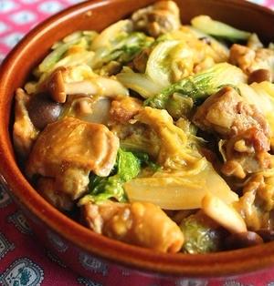 鶏肉と白菜のとろ~りカレーチーズ風味ササッと煮*レシピ