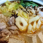 豚しゃぶの旨辛中華鍋