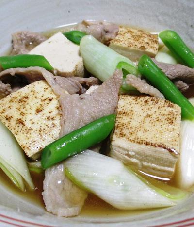 豚こまと焼き豆腐のさっと煮<簡単♪超速>