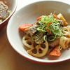 豚肉&根菜の醤油マスタード風味