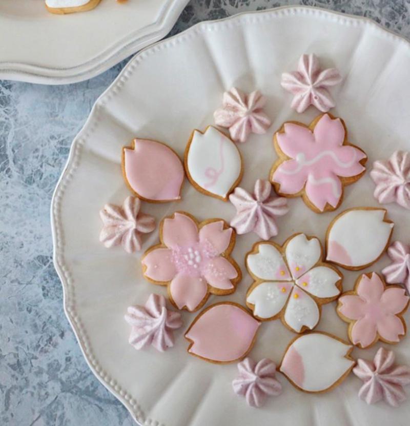 おやつタイムに咲き誇る!ピンクがかわいい「#桜クッキー」
